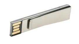 USB CLIP METÁLICO