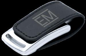 USB CUERO ELEGANTE