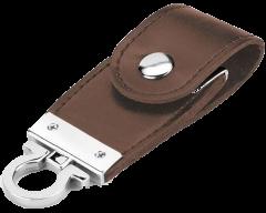 USB LLAVERO DE CUERO