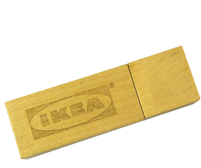 USB Clásica Madera