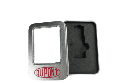 Caja USB Metálica con Ventana